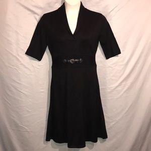 Calvin Klein black sweater dress heavier weighted